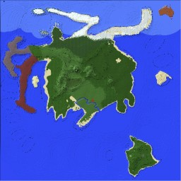 homend island Minecraft Map & Project