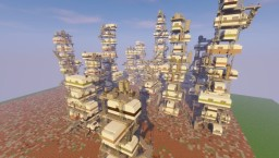 Ready Player One: The Stacks Minecraft Map & Project