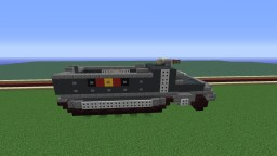 Imperial Half Track Minecraft Map & Project