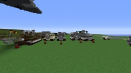 T1 Seires of Imperial Tanks Minecraft Map & Project
