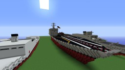 Vanity Class Aircraft Carrier Minecraft Map & Project