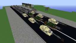 Imperial Military parade and city Minecraft Map & Project
