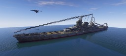 Heavy Cruiser Zao Minecraft Map & Project