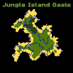 The Jungle Island Oasis (1.13 Map) Minecraft Map & Project