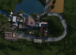 Lake Shore Mansion Minecraft