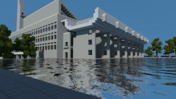 palace of assembly by Le corbusier -  (chandigarh india) Minecraft Map & Project