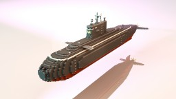 """,,Warszawianka"""" kilo class submarine Minecraft"""