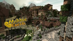 LEEFNUTS MIDDLE EARTH MAP Minecraft Map & Project