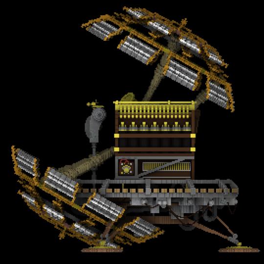 Magicavoxel render