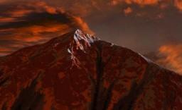 Fiery pyramid Minecraft Map & Project