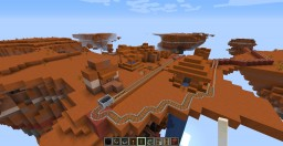I was bored #1 Don't Look Down, the Roller Coaster Minecraft Map & Project