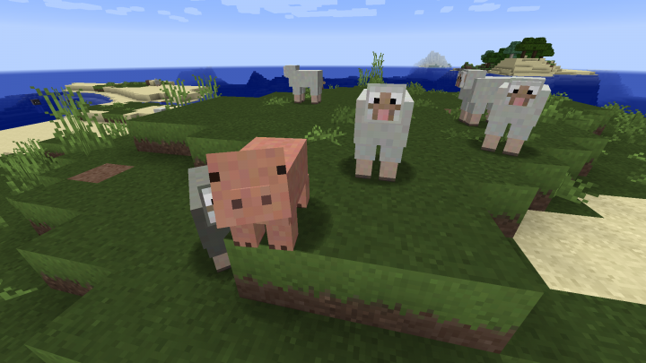 Some of the passive Mobs
