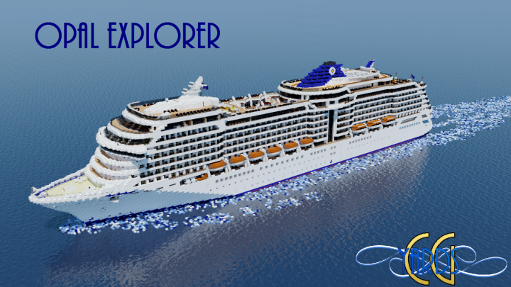 Popular Project : Opal Explorer - Cruise Ship [Full-Interior][+Download]