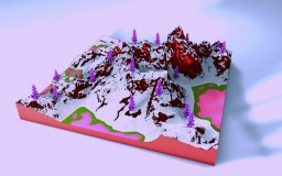 Red Velvet | 500x500 IntErEsTing terrain... Minecraft Map & Project