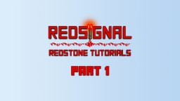 Redstone basics part 1, redstone wires Minecraft Blog