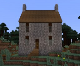 Stone Cottage Minecraft Map & Project