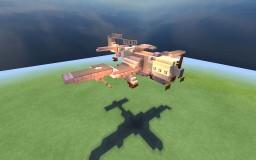 "(custom) TAF L23 mk1 ""Thunderbird"" dive bomber Minecraft Map & Project"