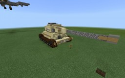 (Custom ww2) German tiger P chibi version Minecraft