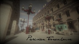 Parisian Townhouse Minecraft Map & Project