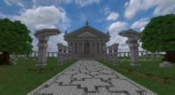 Overlords Nazarick [Entrance] [Speedbuild] Minecraft Map & Project