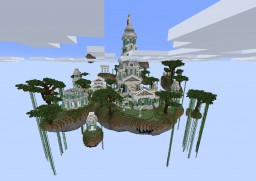 Factions & Skyblock PVP - NEW Minecraft Map & Project