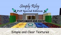 Simply Riley PvP Edition [Bedwars Skywars KitPvp Hungergames] (FPS) Clear Textures Minecraft Texture Pack