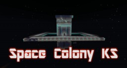 Space Colony KS (mcworld) Minecraft Map & Project