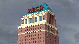 Y. M. C. A. Tower (Exterior): The Fairmont Project Minecraft Map & Project