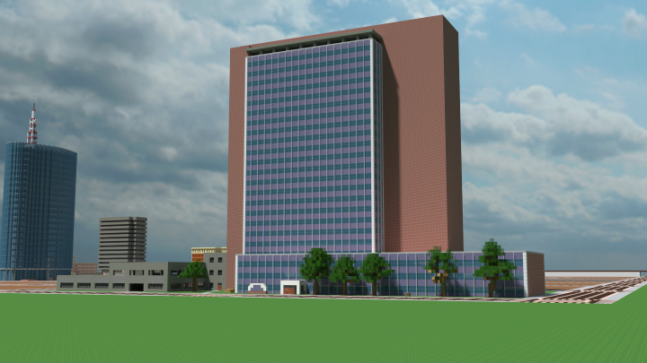 Popular Project : Mid-Century Skyscraper (exterior): The Fairmont Project