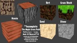 Texture Pack Designers For Hire! (MapleGreenPack) Minecraft Blog Post