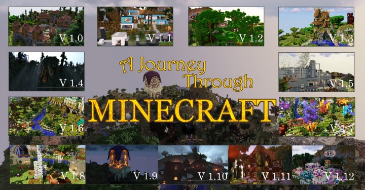 Popular Server Project : A Journey Through Minecraft
