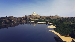 Lonely Mountain Island Minecraft