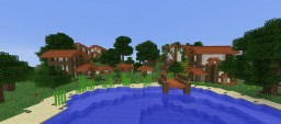 Small Acacia Town Minecraft Map & Project