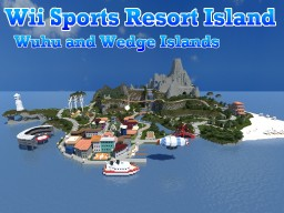 Wii Sports Resort Island - Wuhu and Wedge Islands [1.12 Download] Minecraft
