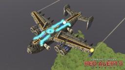 FTAC-X2 Harbinger gunship | C&C Red Alert 3 Uprising [⬇] Minecraft Map & Project