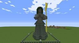 Mermaid Statue Minecraft Map & Project