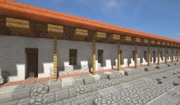 Portal de un pueblo colonial Minecraft Map & Project