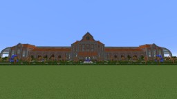 Dutch style railway station Minecraft Map & Project