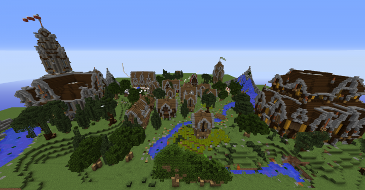 Popular Server Project : Stonehill Medieval Village