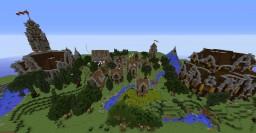 Stonehill Medieval Village Minecraft Map & Project