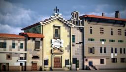 Chiesa del Luogo Pio, Livorno, Italy Minecraft
