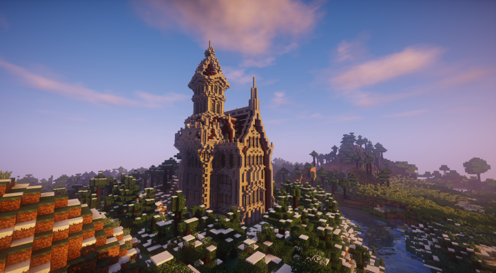 Popular Server Project : Wizard Tower and Mansion