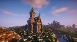 Wizard Tower and Mansion Minecraft