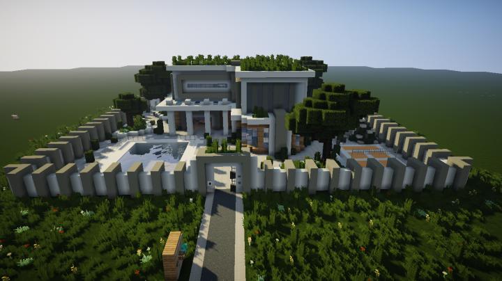Modern Mansion By Itszel Minecraft Map