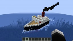 Ugly Little Tug Boat Minecraft Map & Project
