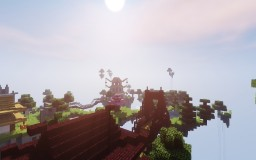 Japanese Floating Islands Minecraft