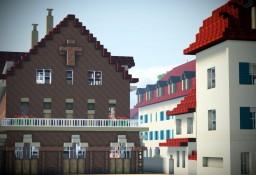 Evangelisches Dekanatsbüro Rüsselsheim, Rüsselsheim am Main, Germany Minecraft Map & Project