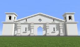 Iglesia de San Juan Bautista de Nahuizalco Minecraft Map & Project