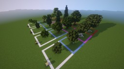 Very Simple Treepack (1.8+) Minecraft Map & Project