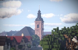 Evangelische Stadtkirche Rüsselsheim, Rüsselsheim am Main, Germany Minecraft Map & Project
